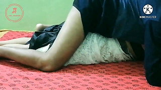 Busty Indian wife seducing in white saree (Part-2)