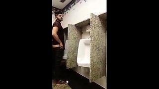 breeding a slut in a Public Bathroom