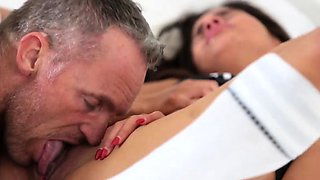 Mother ally's daughter pussy licking and taboo affair Stepdu