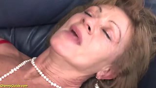 75 years old mom first time anal fucked