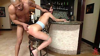 mia gold gets brutally punished and fucked