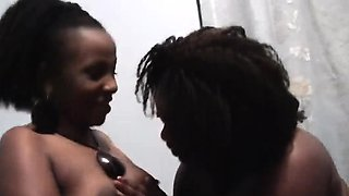Nelly and Natasha are two young African babes who love to