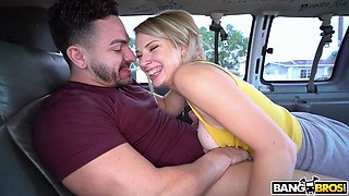 wild fuck on the backseat