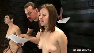 Nasty Hookers Ride Sybian Sex Machines