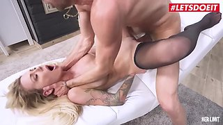 LETSDOEIT #Isabelle Deltore Stunning Australian MILF Ass Pounded Deep By Thick Cock