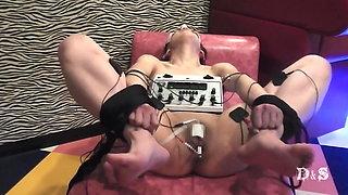 Electric in urethra.