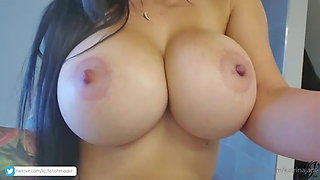 Katrina Jade and her huge tits