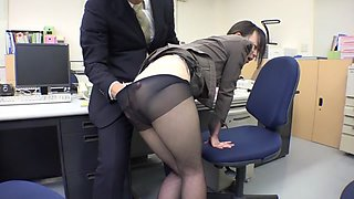 Amateur in Sheer Black Pantyhose part 4