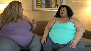 SSBBW Brianna & Jae fat runs in the family