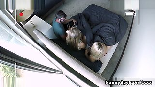 Lilly Ford in Thieving Lesbian Nannies: Take My Dick To Save Your Friend - NannySpy