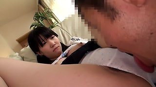 Amazing Japanese chick in Crazy JAV censored Fingering, College clip