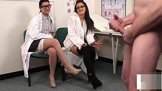 British voyeur nurses watching patient tug