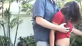 Busty Indian Aunty Gets Her Tits Groped