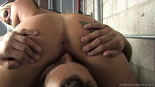 Lacy Holiday is a skillful blonde craving to be penetrated well