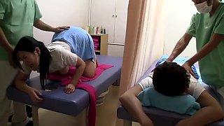 Erotic Massage 2 Next To The Husband Sleeping