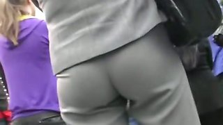 The upskirt white thong hot flashes