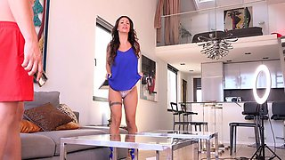 GERMAN SCOUT - LATINA MILF LILY ROUGH FUCK AT PICKUP CASTING