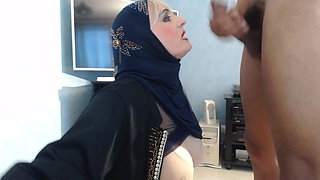 Facial on my hijab