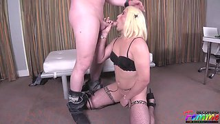 Becomingfemme jenna jaden her super tight ass swallows up cocks