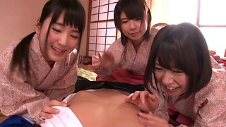 Exotic Japanese girl in Incredible JAV censored Fingering, College clip