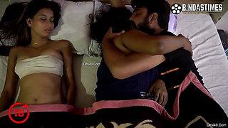 desi Telugu sisters Pavitra and Bargavi Eraparaju group sex