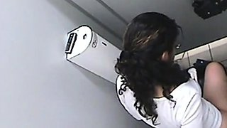 Arab girl toilet spy