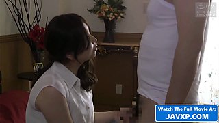 Horny Japanese MILF Fucked By Her Boss