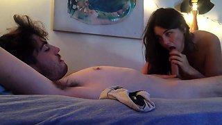 amateur couple make hot homemade sex tape fucking