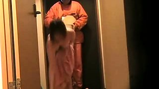 Japanese Wife Flashing Delivery Guy 6