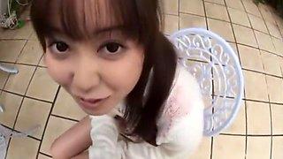 Incredible Japanese whore Yuu Shinoda in Amazing Blowjob/Fera, POV JAV scene