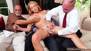 Old granny orgy Frannkie And The Gang Tag Team A Door To Door Saleswoman
