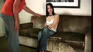2 brunettes acquire punished