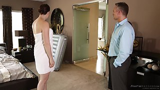 Amazing sex session with skillful brunette chick Chanel Preston
