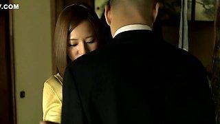 Hottest Japanese chick Ruri Saijou in Amazing JAV censored Swallow, MILFs scene