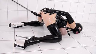Lycy Rubber Passion mast solo in transparent latex