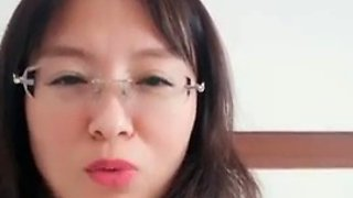 Chinese office lady