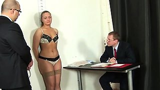 Dirty job interview for a secretary