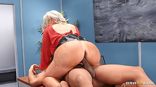 My Prof's Filthy Mouth Free Video With Alura TNT Jenson & Ricky Johnson - Brazzers