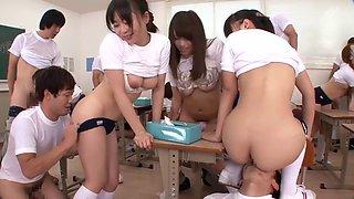 imai natsumi in school orgy