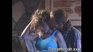 Hungry brutal dude licks hairy pussy of his seductive curly haired chick