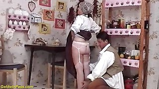 73 years old farmers mom needs rough sex