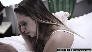 PURE TABOO Brother Fucks Step Sister to Get Pregnant