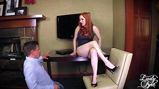 Horny Boss Makes Employee Eat ASS then Fucks him. FULL VIDEO