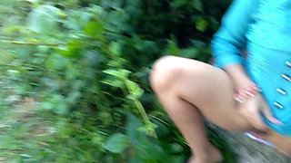 First Outdoor Roadside Risky Public Sex With My Maid