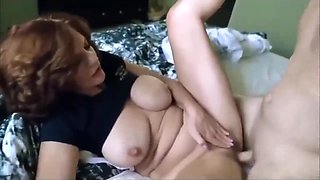 Shameless mature wife seduces and fucks her ex husband for the money