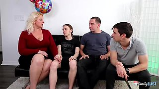 DP Selah Rain - Step Moms Birthday Gangbang