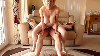 jacking off the son in law