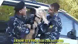 Slut in hands of police