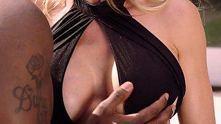 BLACKED Brandi Love Fucks Her Step Daughters Boyfriend