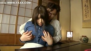 Asian maid abused